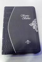 Biblia Ultrafina Gris Con Cierre (Imitación Piel)