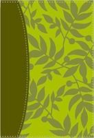 Santa Biblia De Estudio Serie 50 (Piel Manzana Verde)