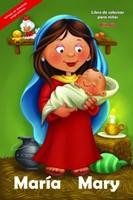 Libro para Colorear Gigante María