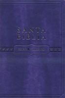 Biblia RVR60 Cuero Italiana Violeta (Vinil)