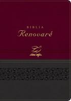 Biblia RVR60 Renovaré (Piel Vino/Gris) [Biblia]