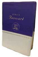 Biblia RVR Renovaré (Dos Tonos Violeta/Beige) [Biblia]