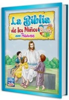 La Biblia De Los Niños Con Palabritas