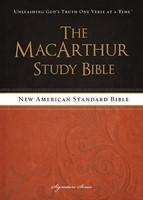 The MacArthur Study Bible -NASB