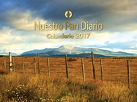 Nuestro Pan Diario Calendario 2017 Pared