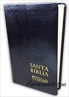 Biblia Cuero Italiano Negro (Cuero Italiano)