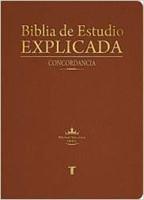RVR 1960 Biblia de Estudio Explicada con Concordancia