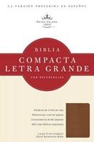 Biblia RVR Compacta Letra Grande con Referencias