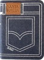 Biblia  RVR con Índice Jean con Ziper