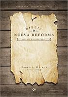 Biblia de Estudio Nueva Reforma Tapa Dura