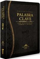 Biblia de Estudio La Palabra Clave (Piel Italiana Negro)