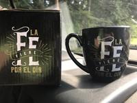 Taza JCruz - Vida Abundante La Fe viene por el Oír
