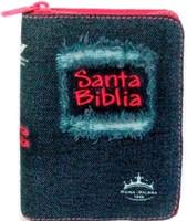 Santa Biblia Jean Cierre Fucsia (Jean Desgaste)