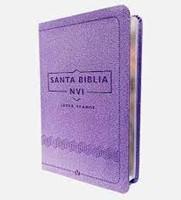 NVI Biblia Letra Grande Violeta