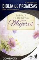 Biblia de Promesas Compacta Piel Especial Floral