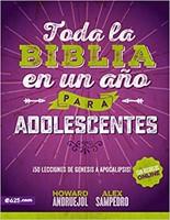 Toda La Biblia En Un Año Para Adolescente
