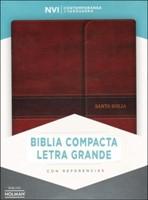 NVI Biblia Compacta Letra Grande con Índice