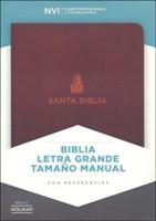 NVI Biblia Letra Grande Tamaño Manual  con indice