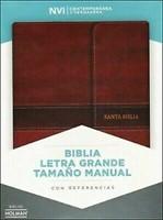 NVI Biblia Letra Grande Tamaño Manual con Índice