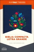 RVR 1960 Biblia Compacta Letra Grande con Índice (Hard Cover)