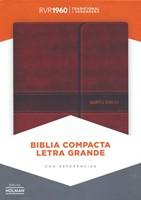 RVR 1960 Biblia Compacta Letra Grande con Índice (Leather Binding)
