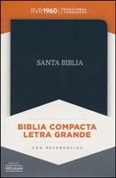 RVR 1960 Biblia Compacta Letra Grande (Bonded Leather)