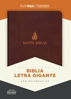RVR 1960 Biblia Letra Gigante (Bonded Leather)
