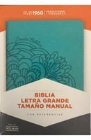 RVR 1960 Biblia Letra Grande Tamaño Manual con Índice
