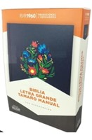 RVR 1960 Biblia Letra Grande Tamaño Manual (Hard Cover)