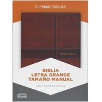 RVR 1960 Biblia Letra Grande Tamaño Manual con Índice (Leather Binding)