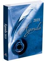 Agenda Prats 2019 - Azul Pluma/Ejecutiva (Pasta flexible)