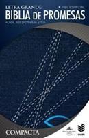 RVR 1960 Biblia de Promesa Compacta con Zíper (Tapa jeans con cierre)