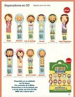 Separador En 3D Para Niños