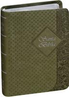 RVR 1960 Biblia Tamaño Bolsillo Verde chica (Imitación Piel Verde )