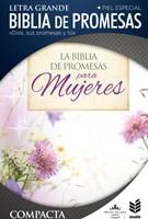 RVR 1960 Biblia de Promesas Compacta Floral Zipper