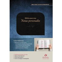 NVI Biblia Para Tus Notas Personales