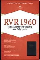 RVR 1960 Biblia Letra Súper Gigante (Imitación Piel, Negro)
