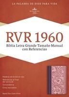 RVR 1960 Biblia Letra Grande Tamaño Manual con Referencias