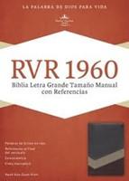 RVR1960 Biblia Letra Grande Tamaño Manual con Referencias