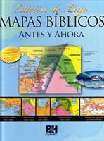 Mapas Bíblicos: Antes y Ahora (Tapa Dura)