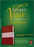 NTV Biblia De Estudio Del Diario Vivir Letra Grande con Índice