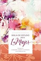 B - Biblia De Estudio Para La Mujer Nvi  -  Tapa Dura
