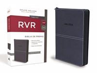 B - RVR Premio Y Regalo, Imii. Piel Azul Con Cierre (Piel)