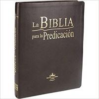 B - Sbu Rvr Lge Biblia De La Predicacion (Piel)