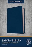 B-Ntv Edicion Clasica Letra Gigante Azul Indice