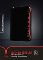 B-Ntv Edicion Ziper Compacta Negro-Carmesi