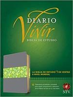 B-Ntv Estudio Diario Vivir Piel Gris-Verde