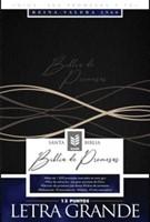 Biblia RVR1960 Promesas Letra Grande Negra