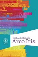 NTV Biblia De Estudio Arco Iris Multicolor