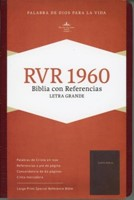 RVR 1960 Biblia Letra Grande Edición Especial y Referencias